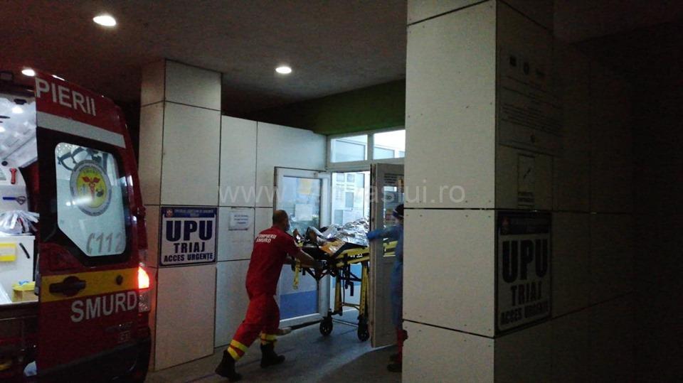 Un bărbat din localitatea Tutova s-a autoincendiat