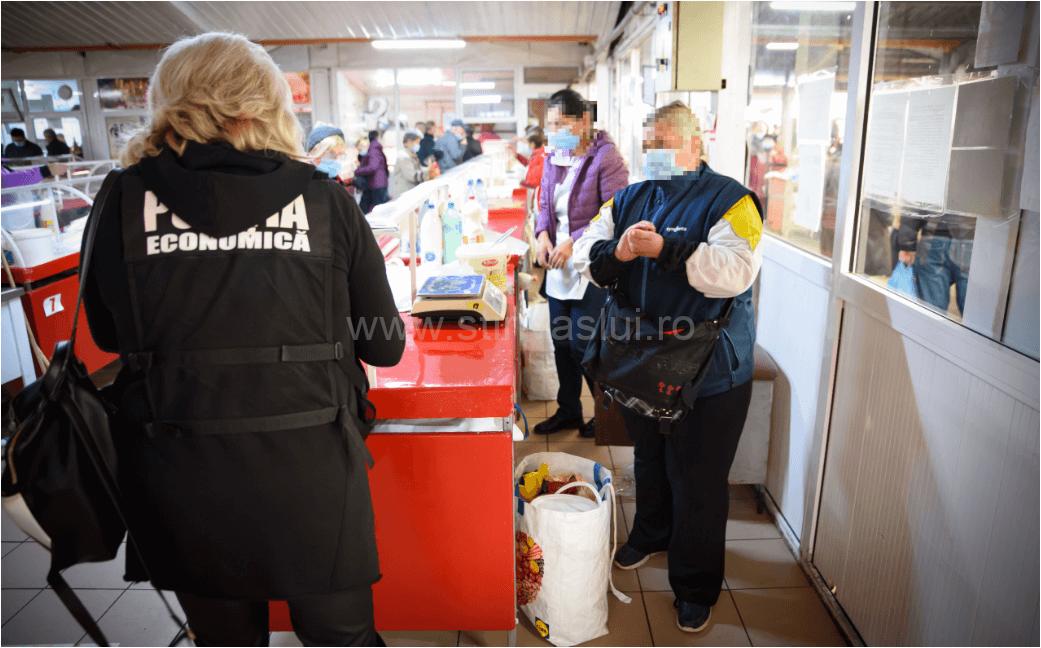 Razie a poliției economice în Bârlad și Huși