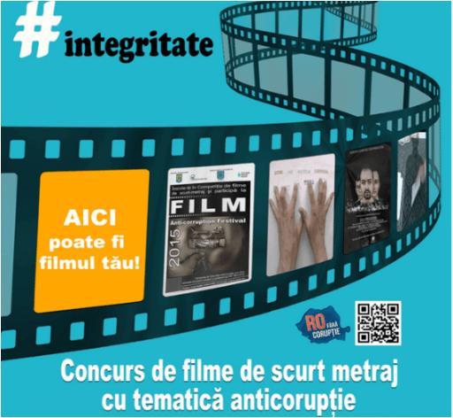 România fără corupție. Concurs de filme de scurt metraj
