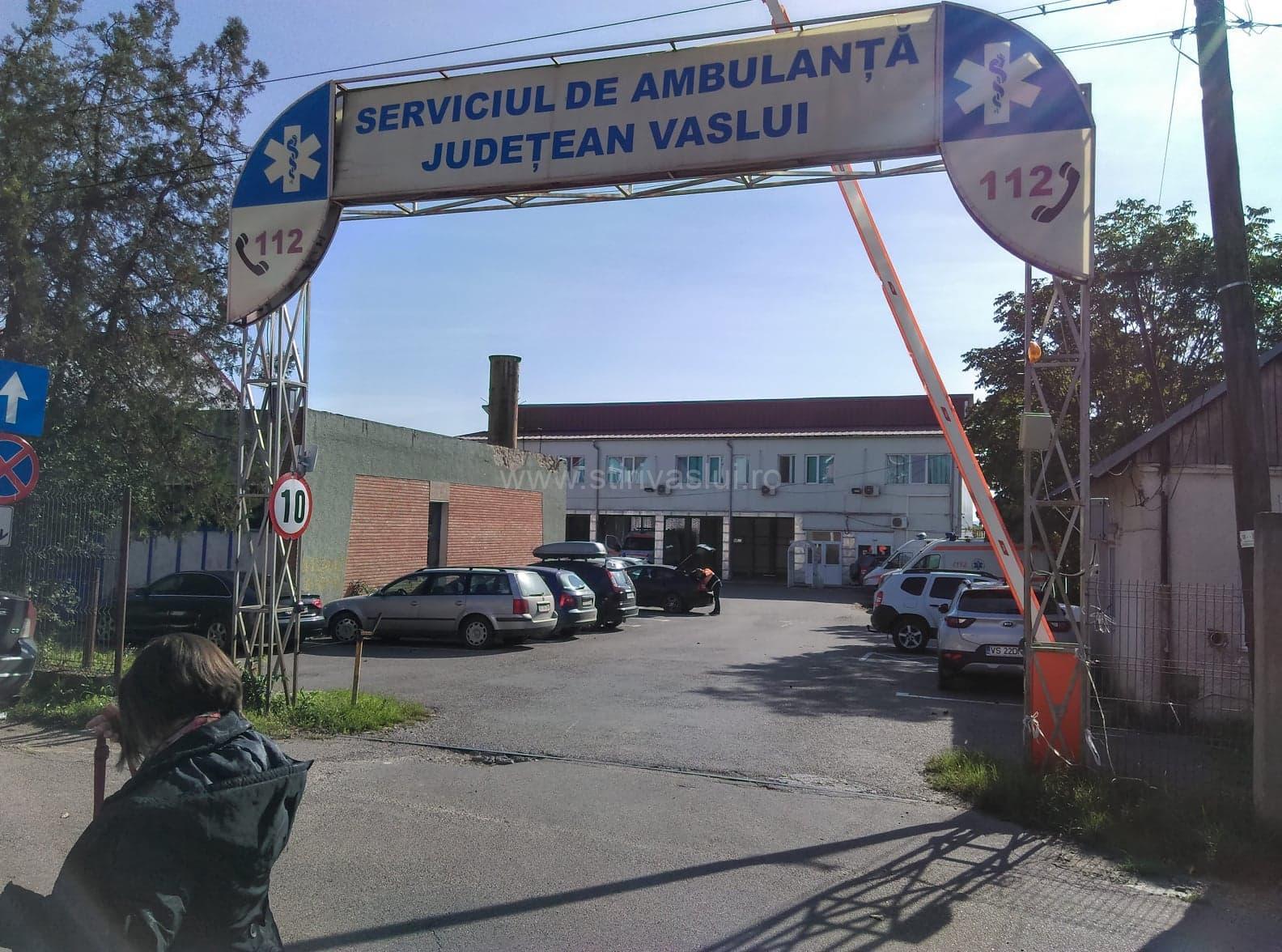 Trafic de influență și înșelăciune la SAJ Vaslui și Spitalul Bârlad