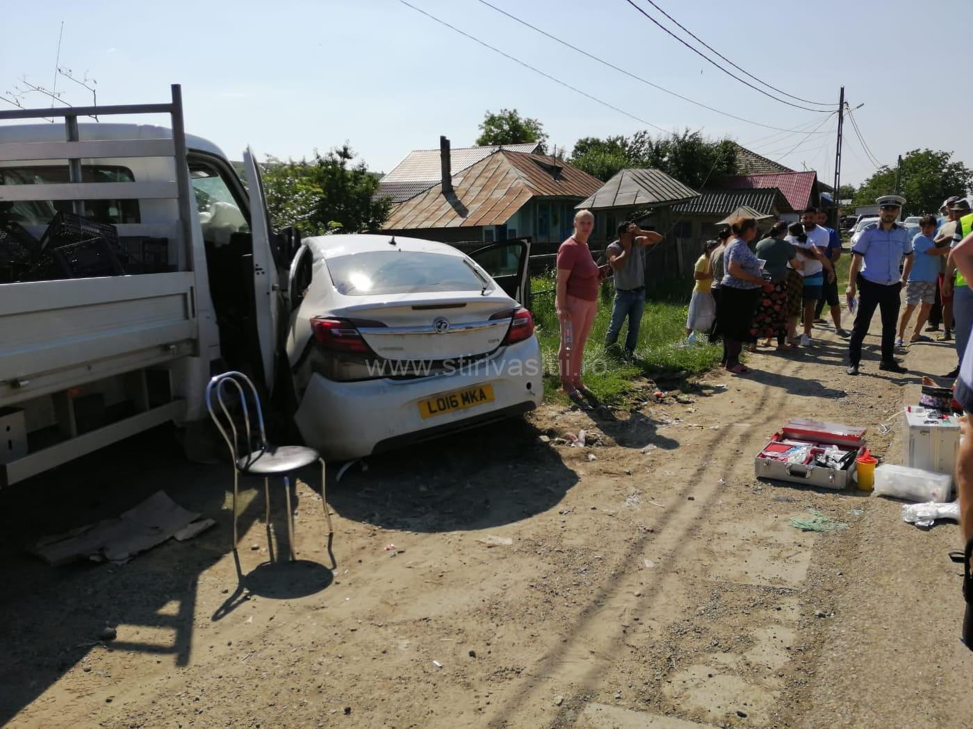 Accident rutier la Dragomirești. O persoană a decedat