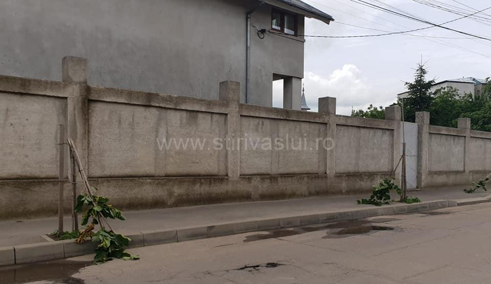 Acte de vandalism la Bârlad, pe strada Petru Rareș