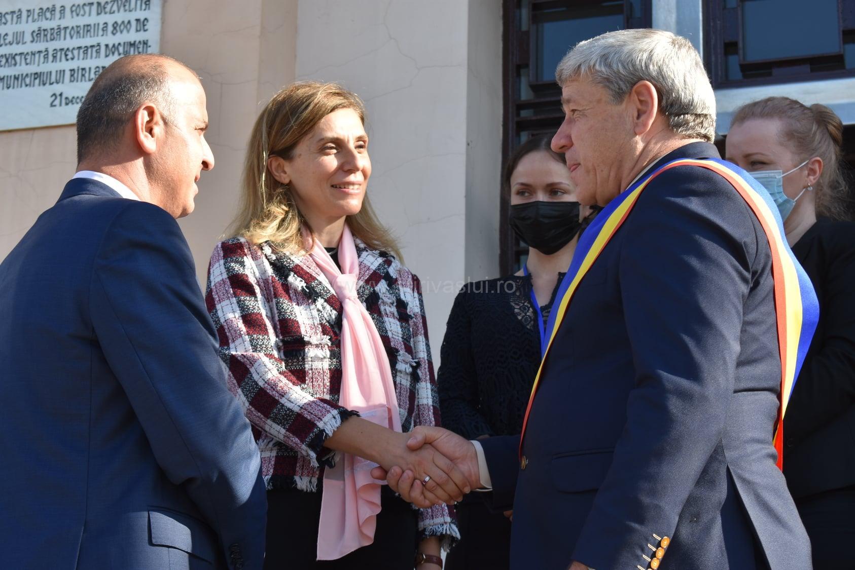 Füsun Aramaz, ambasadorea Turciei în vizită la Bârlad