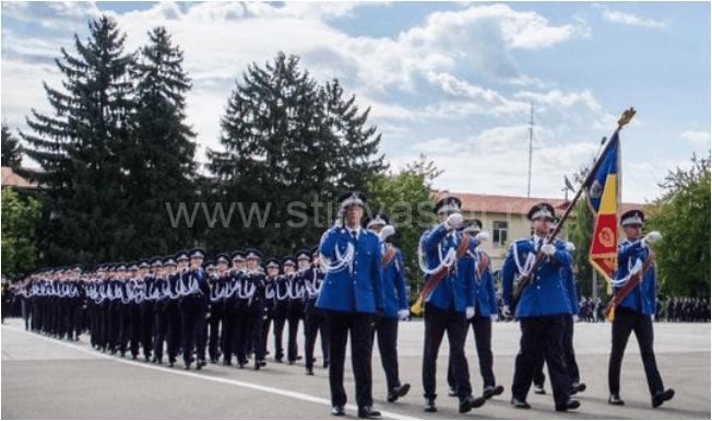 Jandarmeria Vaslui recrutează candidați pentru concursul de admitere la Academia de Poliție