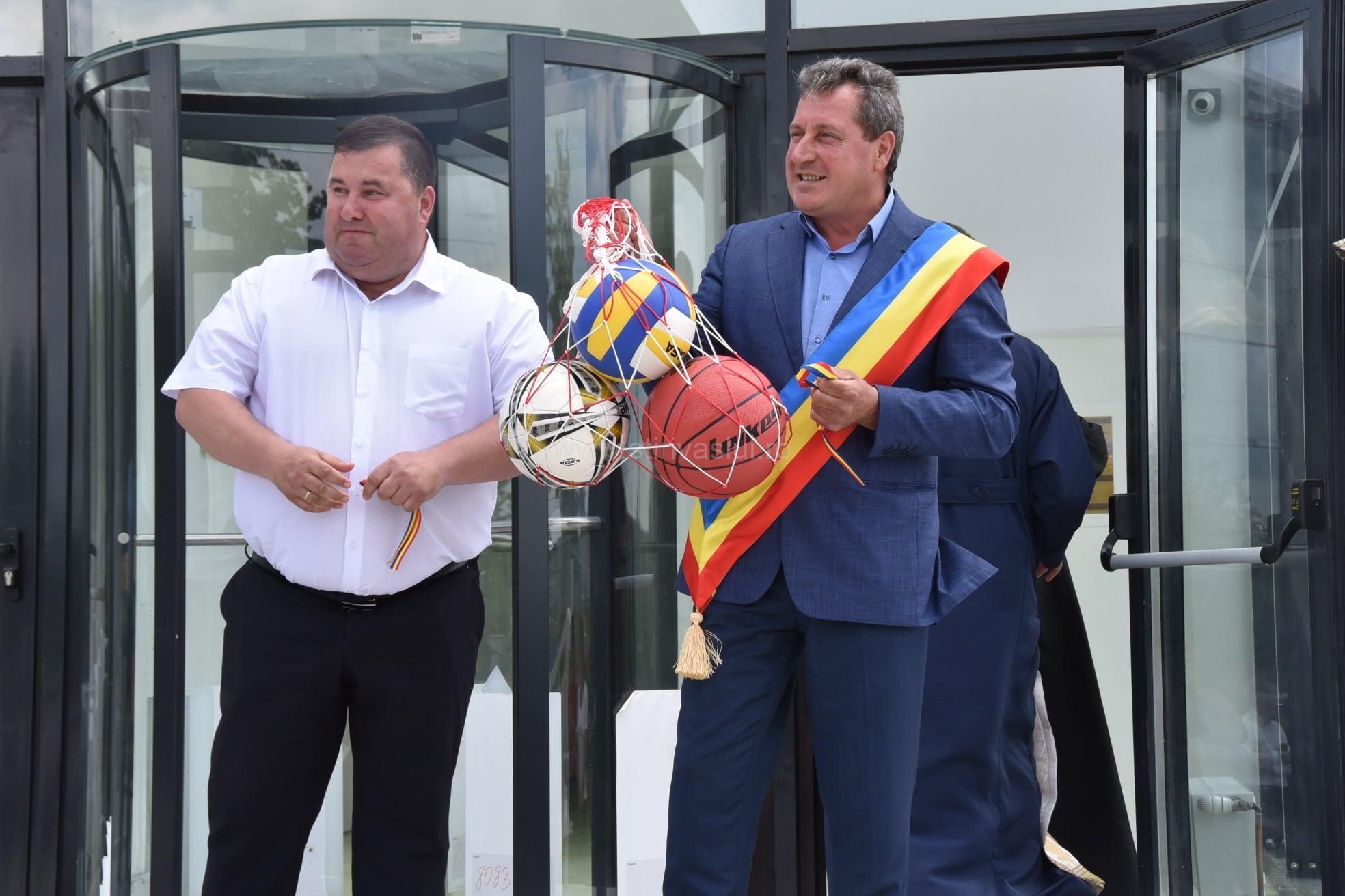 Sală de sport ultramodernă în comuna Ștefan cel Mare 3