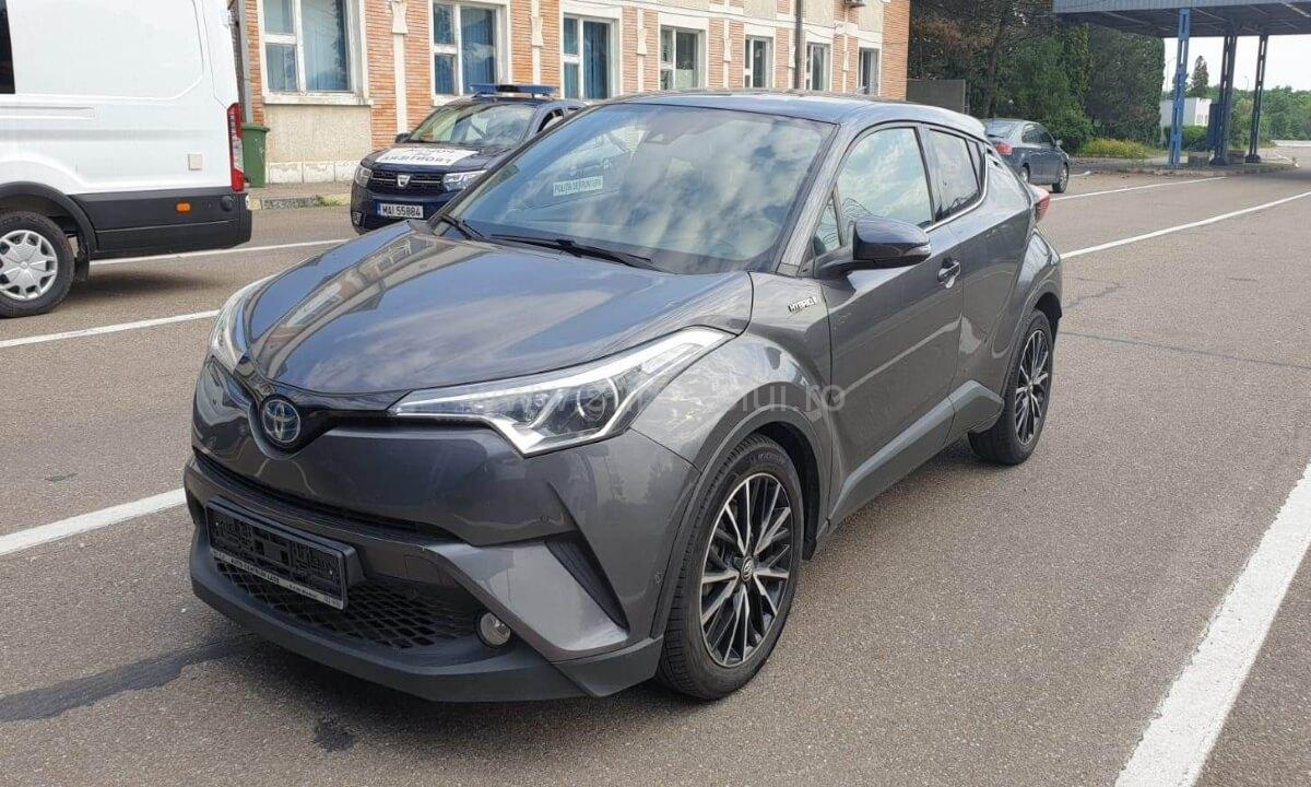 Autoturism Toyota C-HR furat din Spania, confiscat la Albiţa