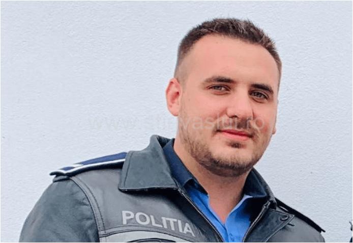 Mantaroșie Andrei – Bogdan, polițistul care a salvat un bărbat din incendiul de la Vutcani