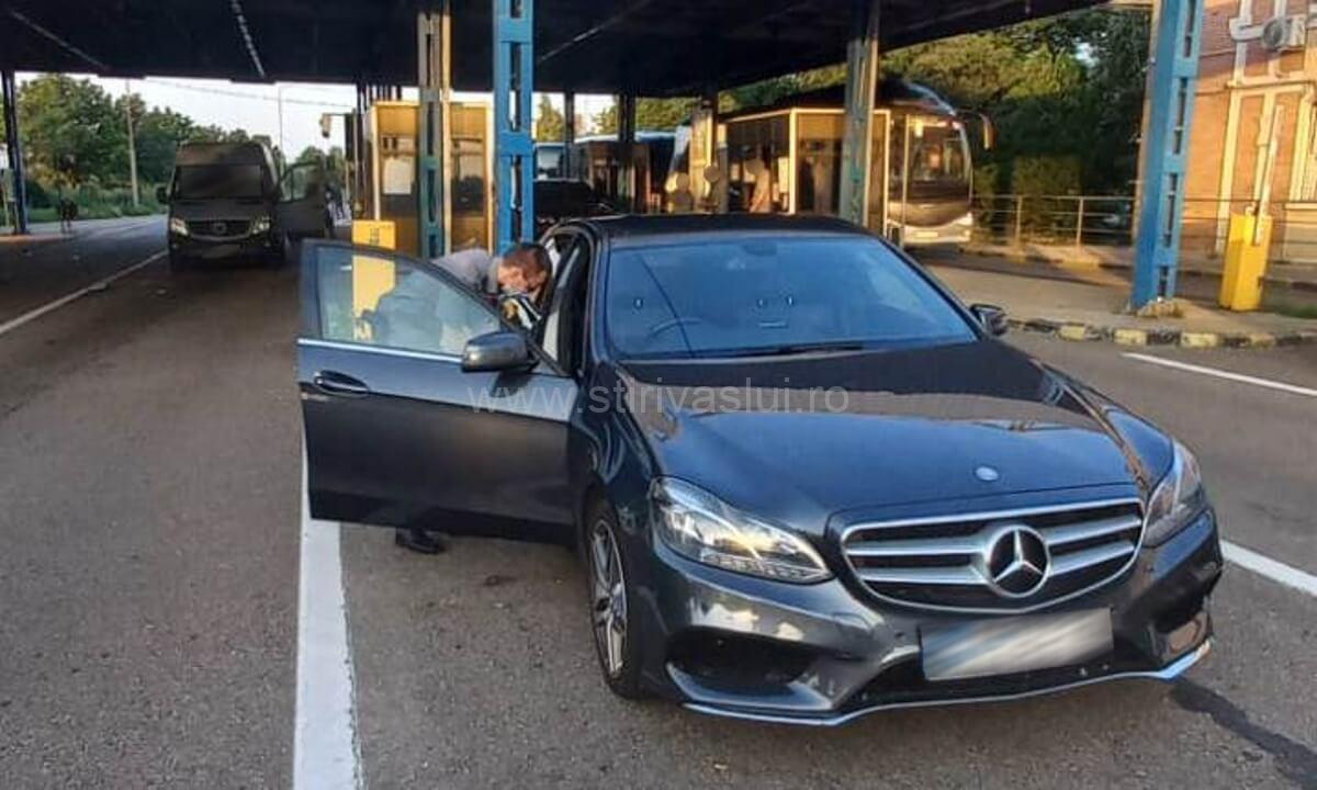 Mercedes-Benz furat din Marea Britanie, retinut la Albița