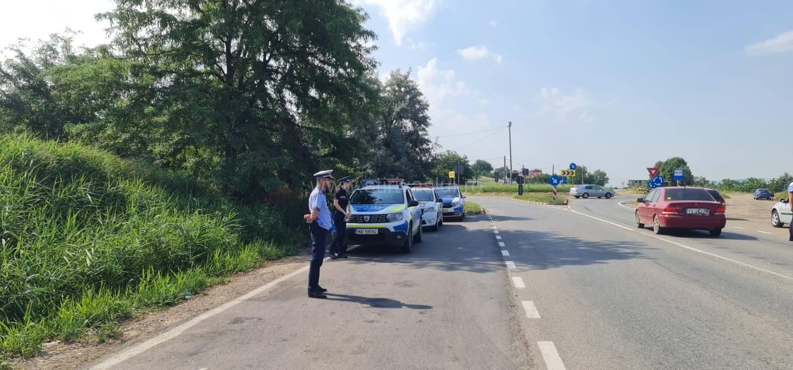 Șoferii beți sau fără permis, amendați de polițiștii rutieri