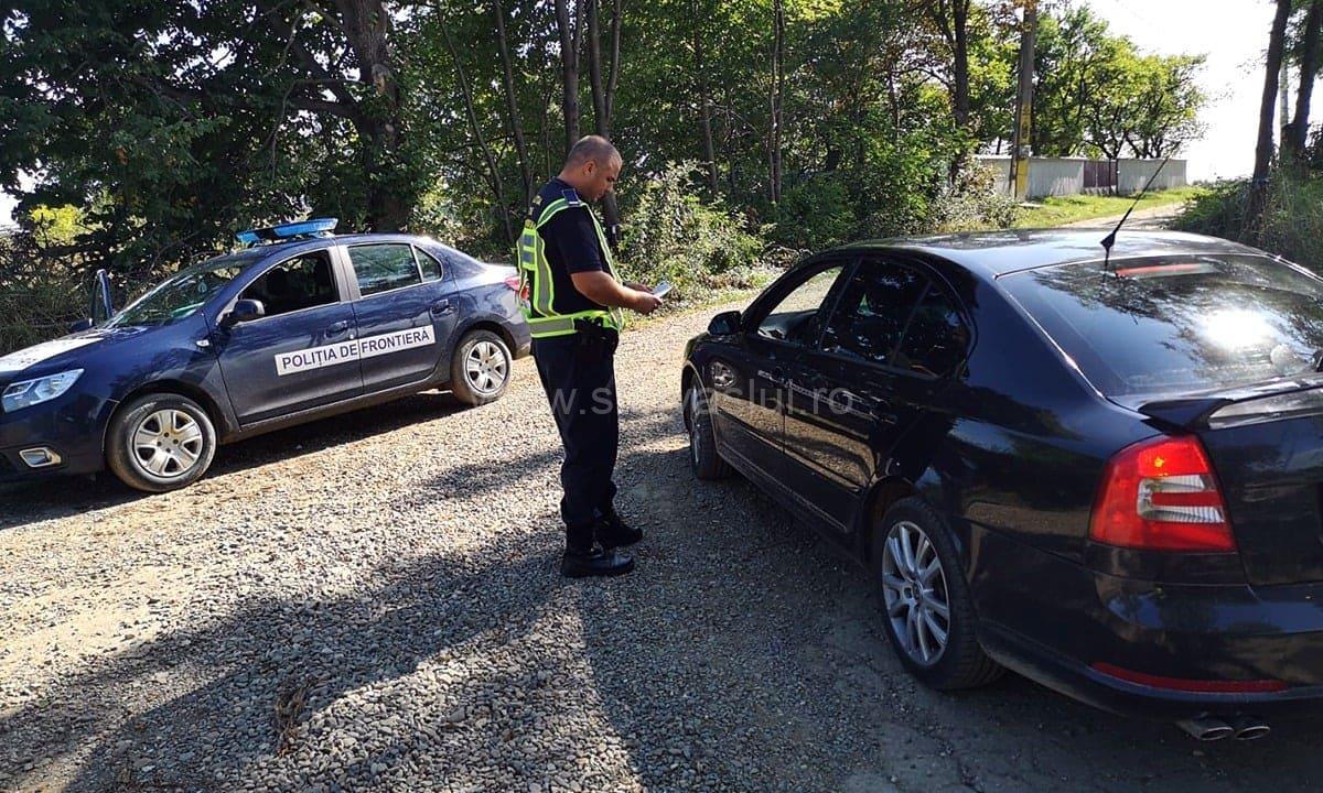 Autoturism cu ITP falsificat oprit la intrarea în ţară