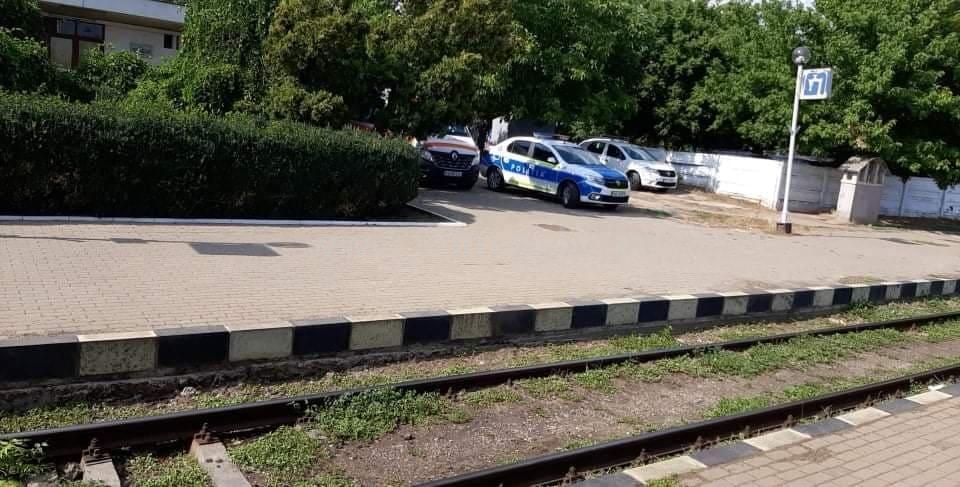 Bărbat găsit decedat într-un tren care urma să oprească la Bârlad