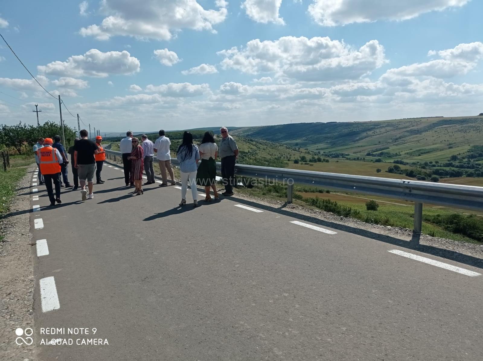 Drum comunal modernizat prin PNDL la Bogdănești 2