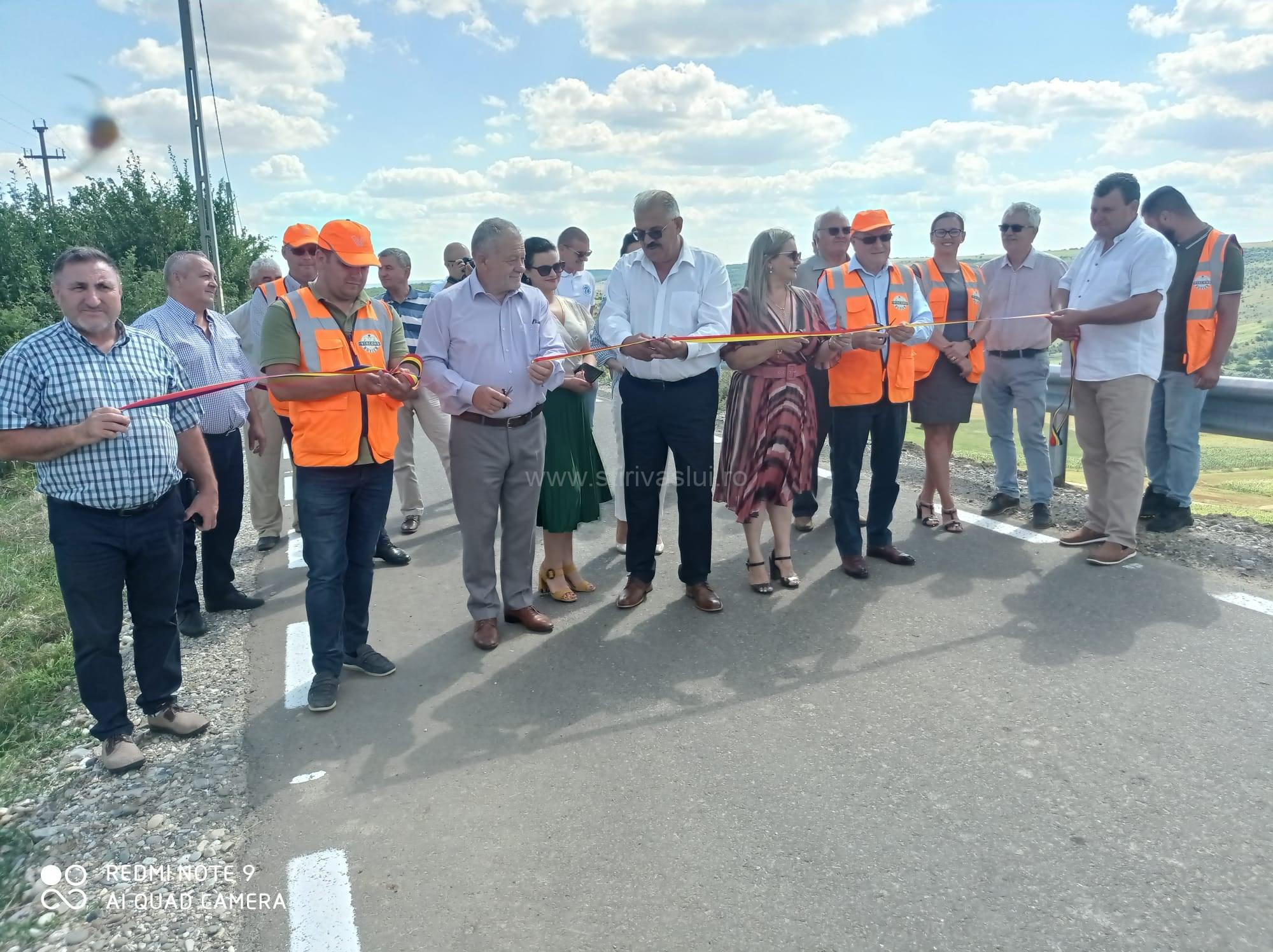 Drum comunal modernizat prin PNDL la Bogdănești
