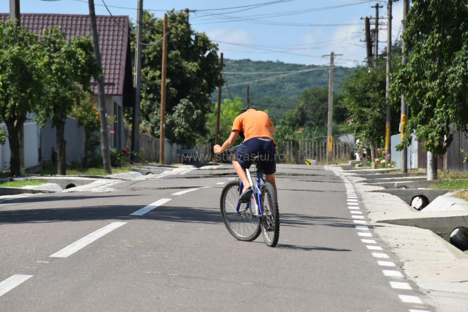 Drumul comunal Pădureni-Rusca a fost modernizat 2