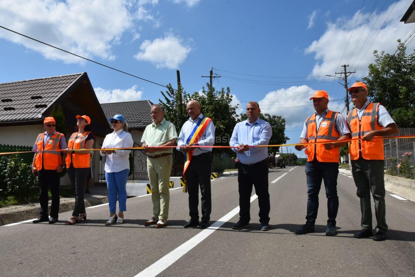 Drumul comunal Pădureni-Rusca a fost modernizat
