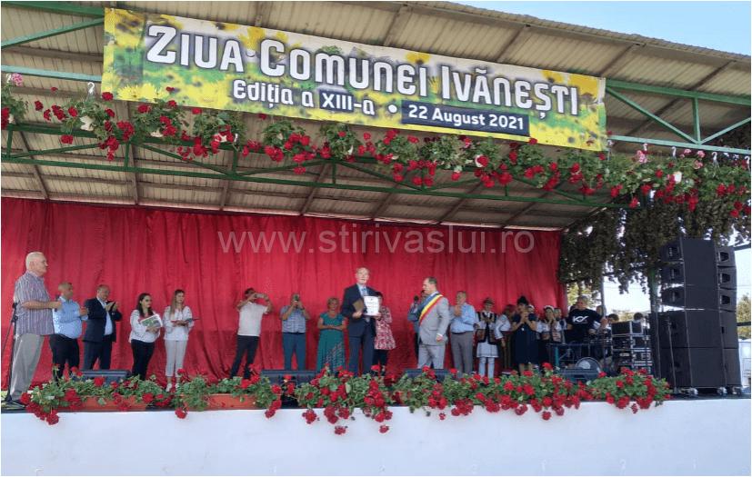 Personalitățile din Ivănești, evidențiate la Ziua Comunei