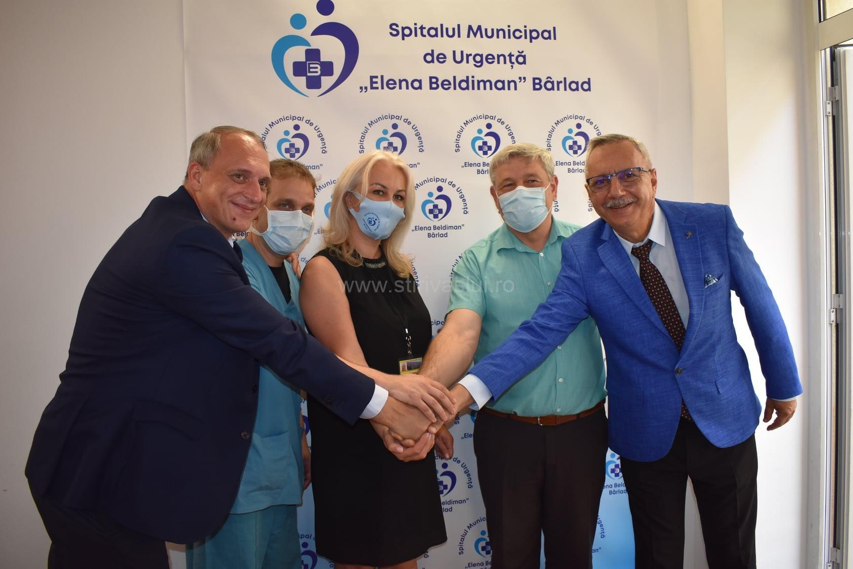 Spitalul Bârlad, dotat cu dispozitivul medical performant NICaS