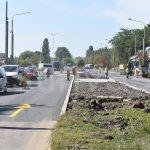 Trafic auto și pietonal deviat în zona viitorului centru comercial din Bârlad