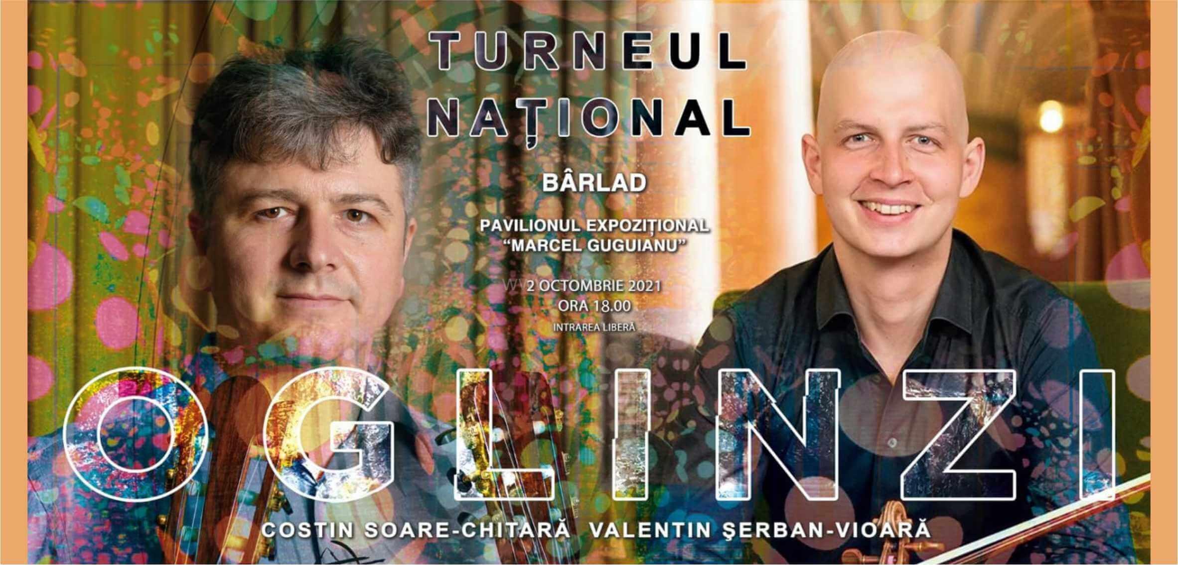 """Turneul Naţional """"OGLINZI"""". Concerte şi dublă lansare de album"""