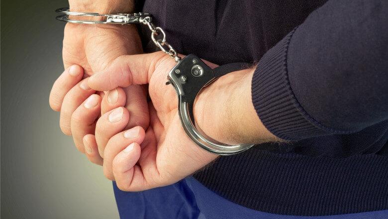 Bărbat din Banca reținut pentru distrugere și scandal