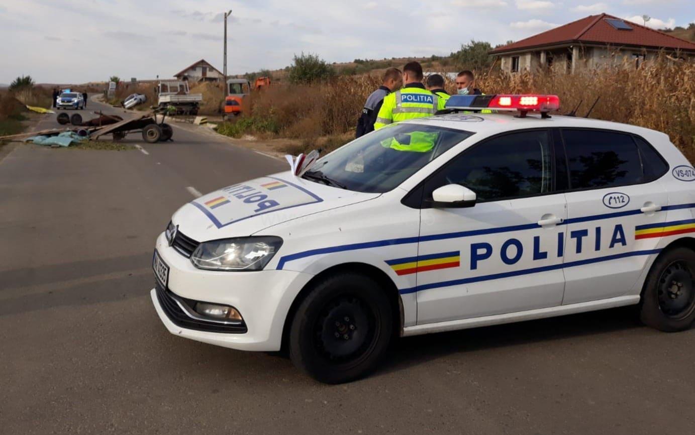 Căruțas mort în urma unui accident rutier produs la Ferești
