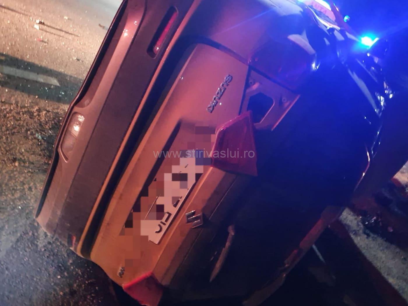Un autoturism s-a răsturnat în localitatea Siliștea